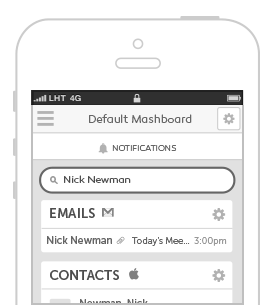 Search all of the widgets on your Mashboard to quickly find the information you need. How it Works How it Works 2